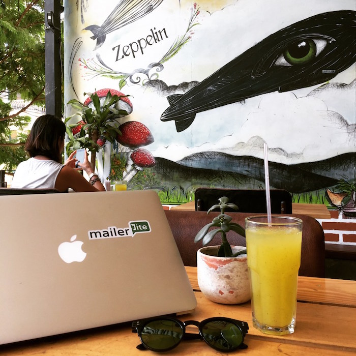 Cafe Zeppelin, remote work guide to Medellin